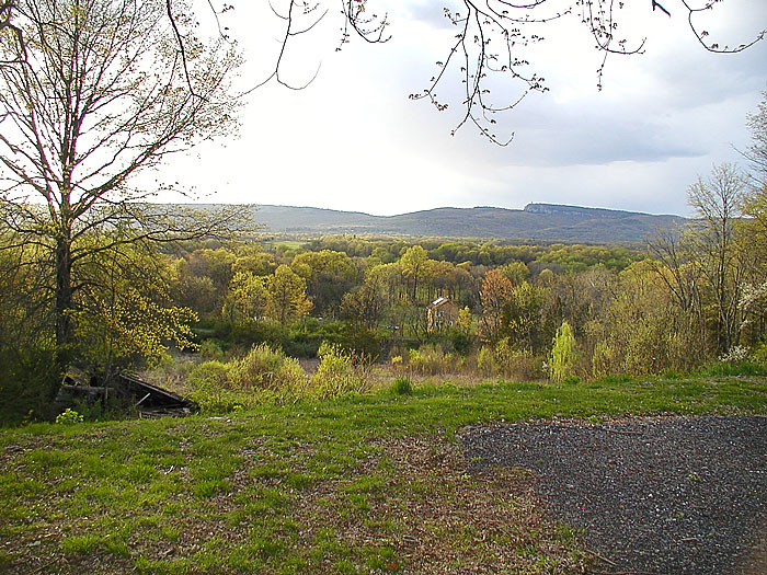 View of the Shawangunk ridge